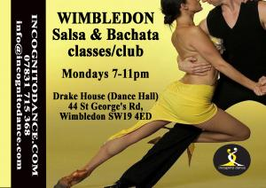 Wimbledon salsa and bachata