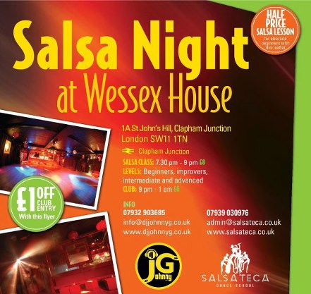 salsa dating london The largest site in the world for finding a dance partner - over 60,000 dancers our world-wide directory covers ballroom, salsa, swing, and.