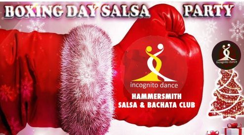 Salsa and Bachata on Boxing day in Hammersmith