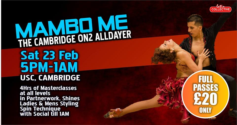 Cambridge Mambo On2 Alldayer