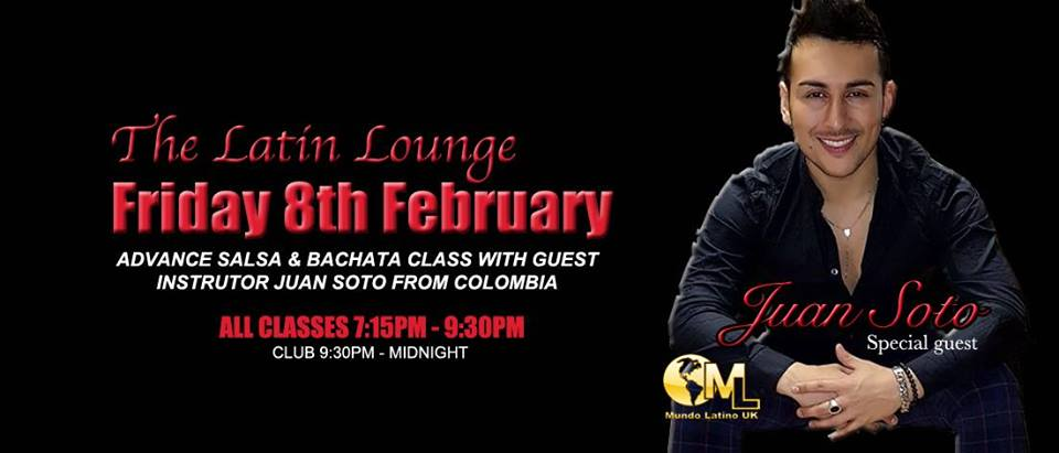 Bachata and salsa in KIngston with Juan Soto