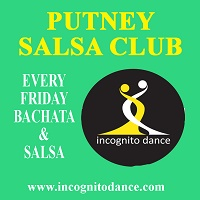 Putney Friday night salsa lessons and social