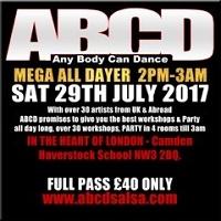 ABCD Mega alldayer, Chalk Farm, salsa, bachata, kizomba