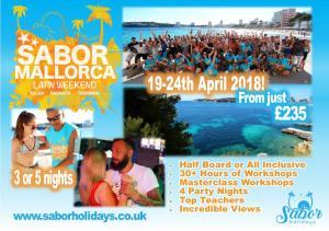 Mallorca Latin Dance holiday