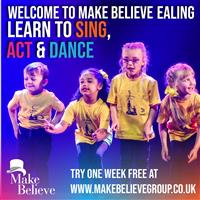 Ealing singing, dancing and acting for U18s