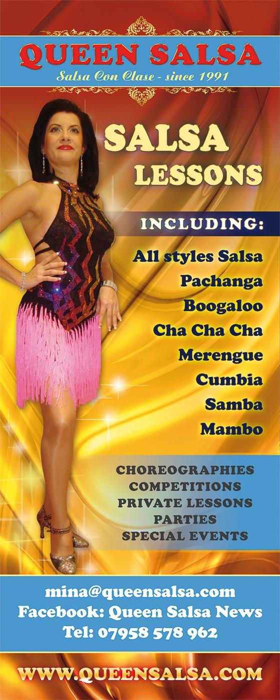 Mina Queen Salsa