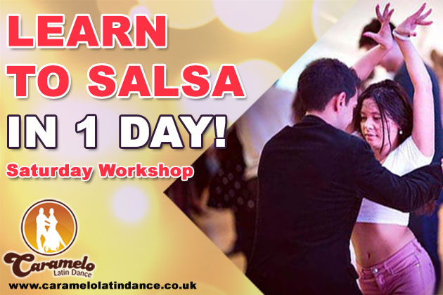 Paddington 1 day salsa course