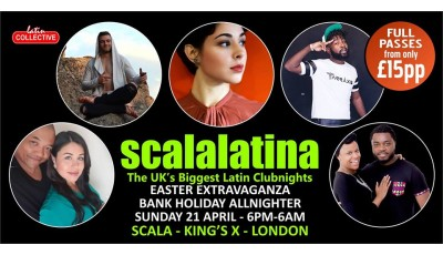 Easter Sunday in Kings Cross, salsa, bachata and kiizomba