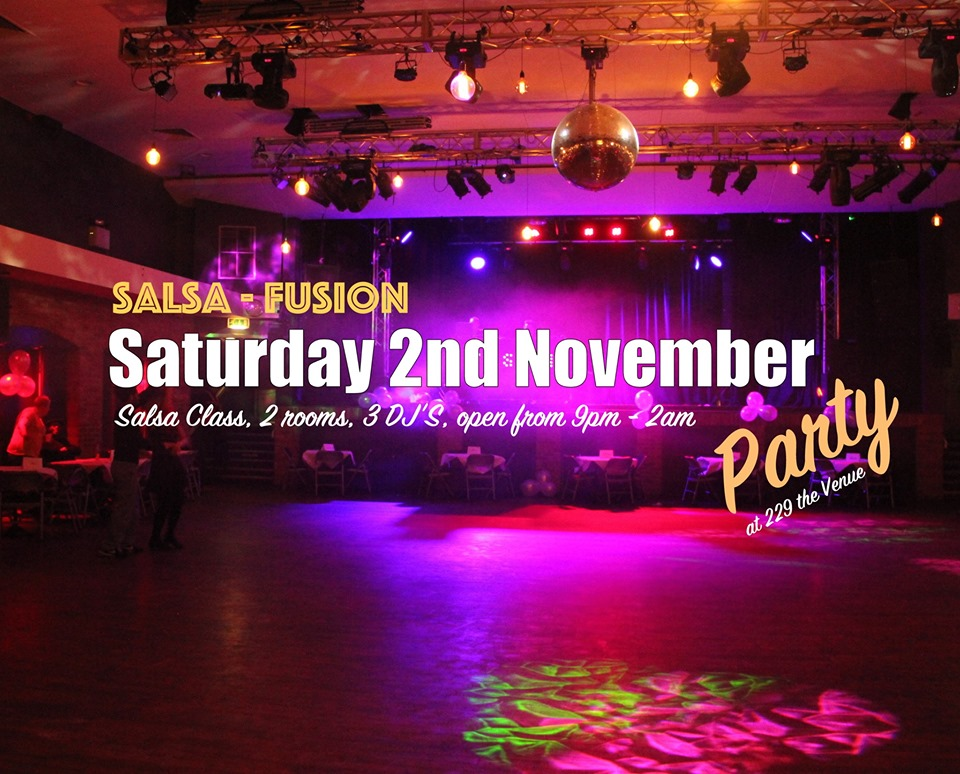 Salsa Fusion on Great Portland st
