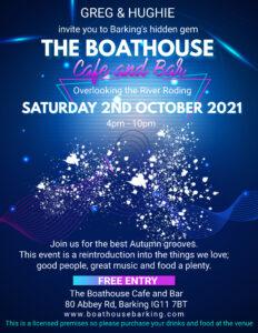 DJ Hughie at the Boathouse
