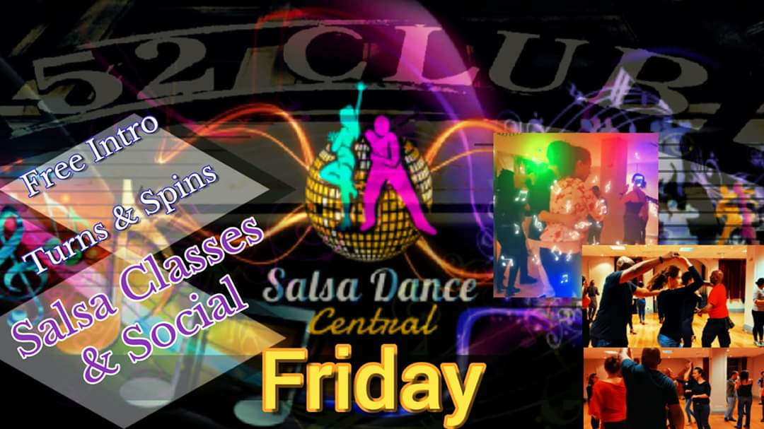 Friday Salsa in Goodge St